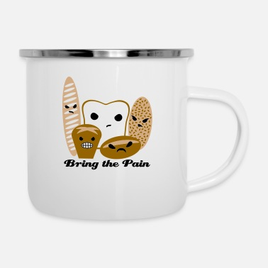 Pain Bring the Pain - Enamel Mug