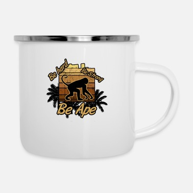 Ape Ape Power monkey be ape - Enamel Mug