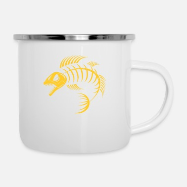 Fisherman dragon fish - Camper Mug