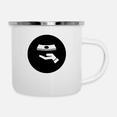 Receiver Receive money - Enamel Mug