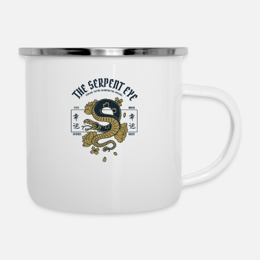 Serpent The Serpent Eye - Enamel Mug