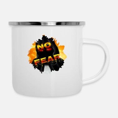 No Fear In Love NO FEAR - Enamel Mug
