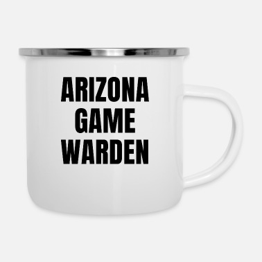 Plain Arizona Game Warden Gamekeeper AZ Conservation - Enamel Mug