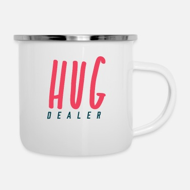 Best Hug Dealer - Enamel Mug