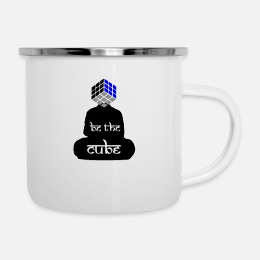 Cube BE THE CUBE - Enamel Mug