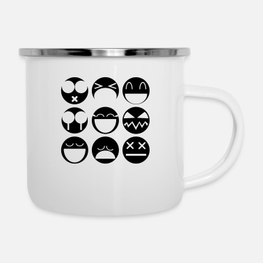 Emotion emotions - Enamel Mug