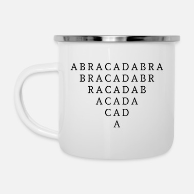 Now You See Me, Now You Don't (Abracadabra) - Enamel Mug