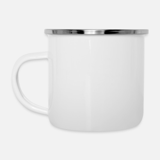My Mugs & Drinkware - i love my girlfriend - Enamel Mug white