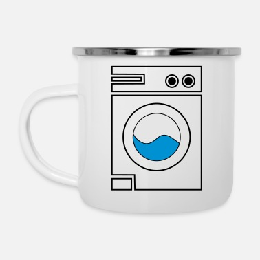 Wash washing machine - Enamel Mug