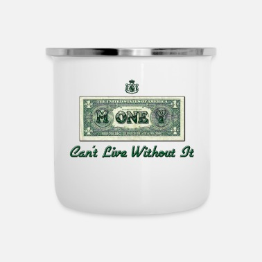 Greenback Money - Enamel Mug