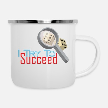 Program-what-you-do I Try to succeed - Enamel Mug