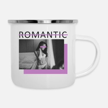 Romantic not romantic - Enamel Mug