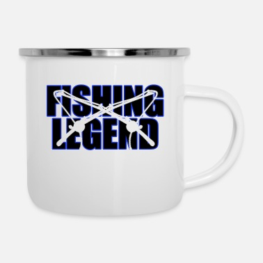 Fishing legend - Enamel Mug