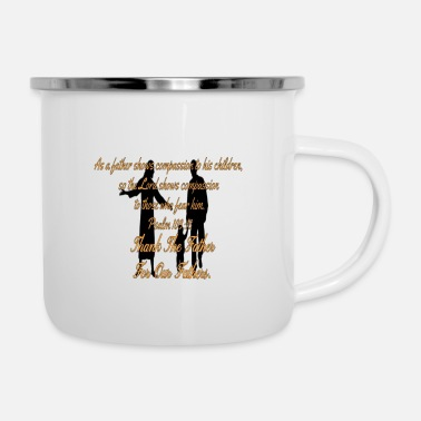 Fathers Father's Day Christian - Enamel Mug
