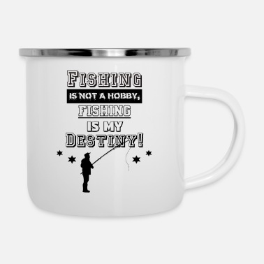 Fishing Hobby - Enamel Mug