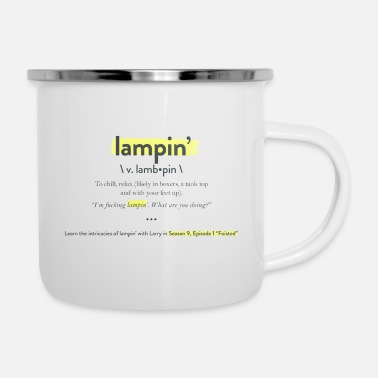 Lampin Have a Pretty Good - Enamel Mug