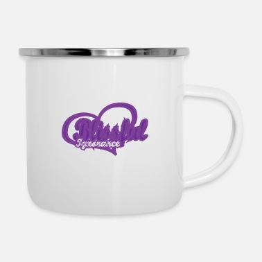 Bliss Blissful Purple - Enamel Mug