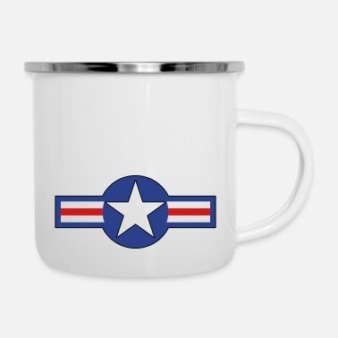 Us Air Force US Air Force - Enamel Mug