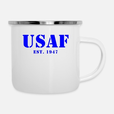 Us Air Force US Air Force Est Design - Enamel Mug