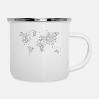 World's World - Enamel Mug