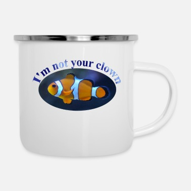 Clown - Enamel Mug