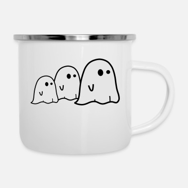 Ghost Ghosts - Enamel Mug