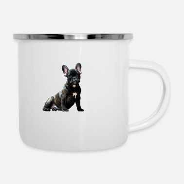 Bulldog Puppy French Bulldog Puppy - Enamel Mug