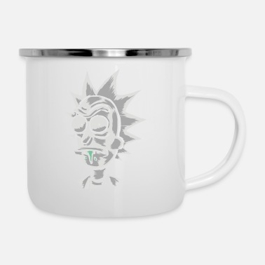 Scientific Scientific Sketch - Enamel Mug
