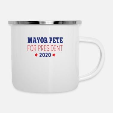 Pete Pete Buttigieg 2020, Mayor Pete - Enamel Mug