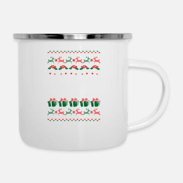 Gpa GPa Ugly Christmas Sweater Xmas - Enamel Mug