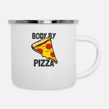 Body Body By - Enamel Mug