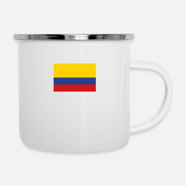 Colombia National Flag Of Colombia - Enamel Mug