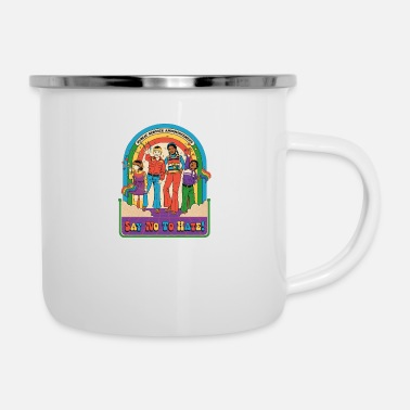 Smiffys say no to hate - Enamel Mug