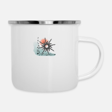 Wheel The Wheel - Enamel Mug