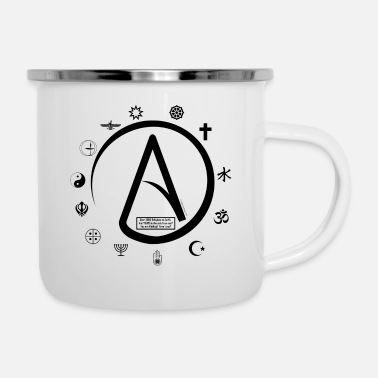 Kricket Kountry Atheist: How can 2000 Religions all be TRUE? - Enamel Mug