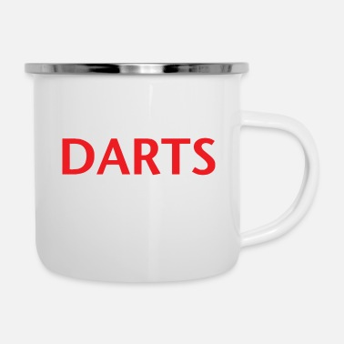 Education-culture Education Darts - Enamel Mug
