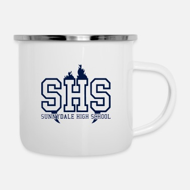 Sunnydale High School logo merch - Enamel Mug