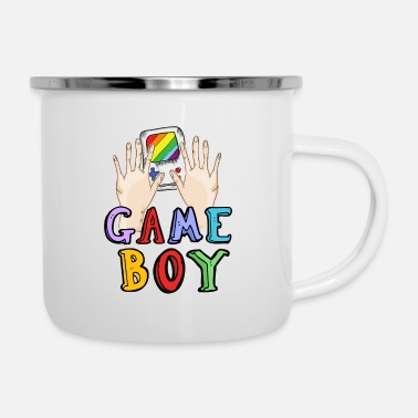 Game Boy Gamer Nerd - Enamel Mug