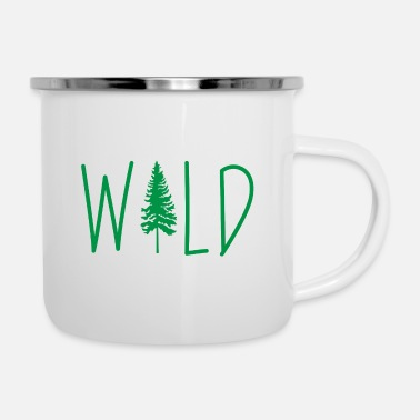 Alps Wild Adventure Mountains Vacation Gift - Enamel Mug
