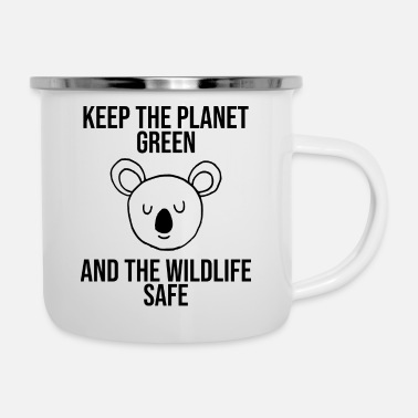 Nature Conservation Koala nature conservation - Enamel Mug