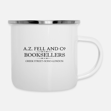 Book A Z Fell Book Shop - Enamel Mug