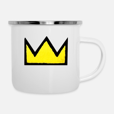 the king - Enamel Mug