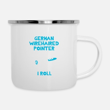 Pointer German Wirehaired Pointer Mom - Enamel Mug