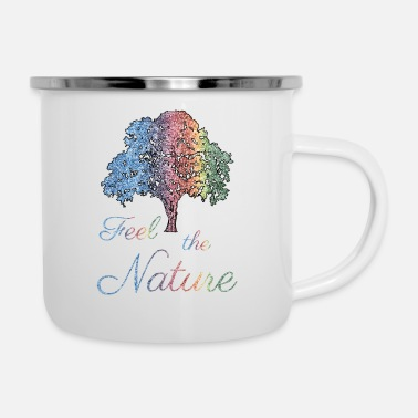 Nature Feel the Nature - Enamel Mug
