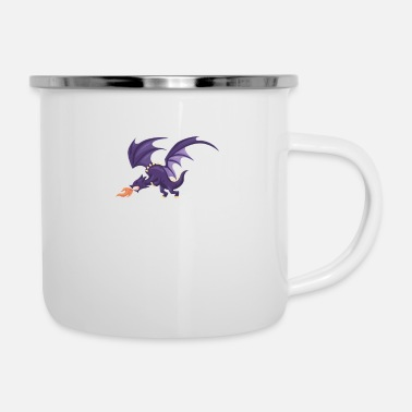 Dragons Lair Meddle Not In The Affairs Of Dragons - Enamel Mug