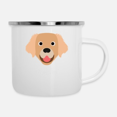 Golden Retriever Golden - Golden Retriever - Enamel Mug