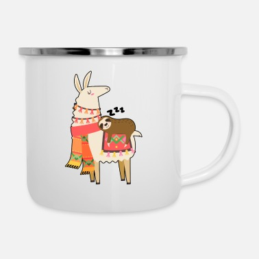 Funny Funny Sloth Quotes - Enamel Mug
