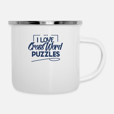 Crossword Crossword Crossword Crossword Crossword - Enamel Mug