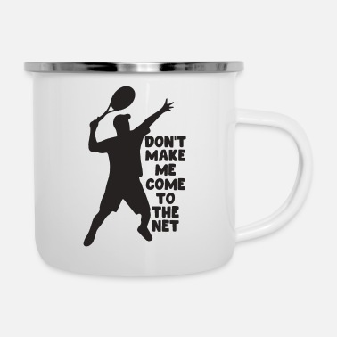 Wimbeldon Tennis Player - Enamel Mug