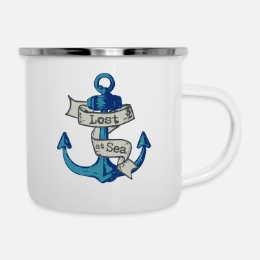 Lost at sea - Enamel Mug